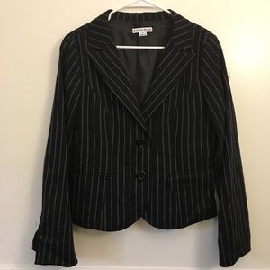 Pendleton Stripe Wool Blazer